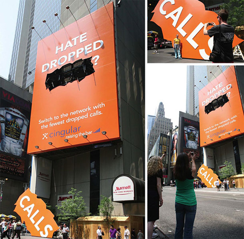 grande pubblicità di provider telefonico