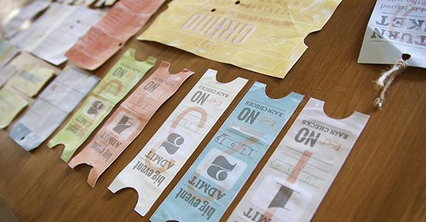 raccolta di biglietti di viaggio vintage