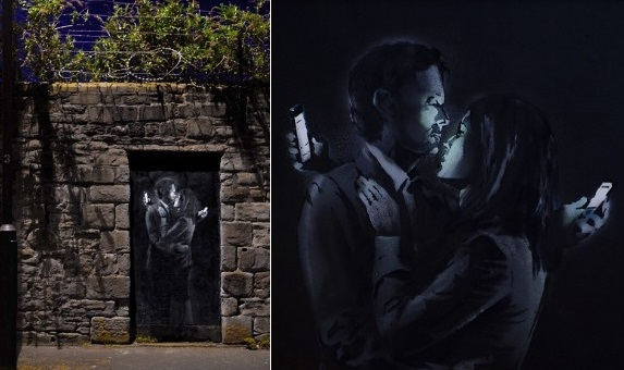 Mobile Lovers Banksy