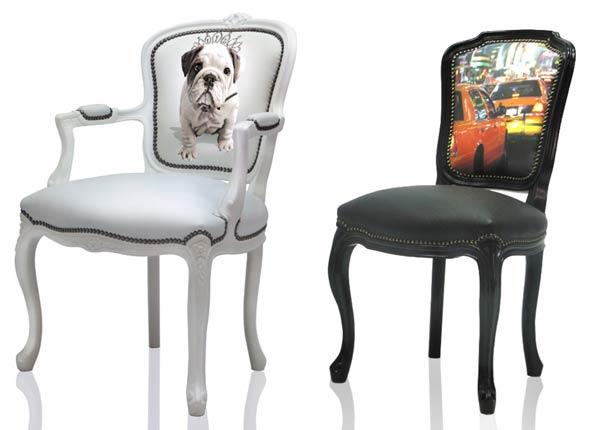 stampa digitale coppia di sedie