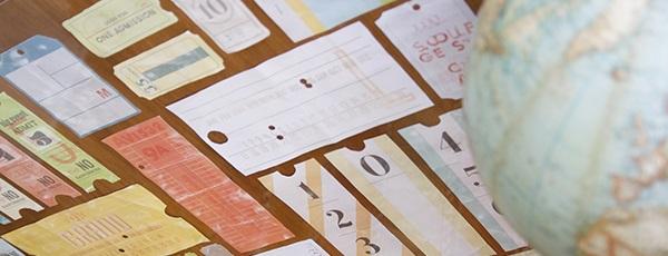 biglietti vintage