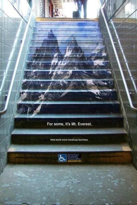 scalinata adesivi calpestabili everest pro handicap