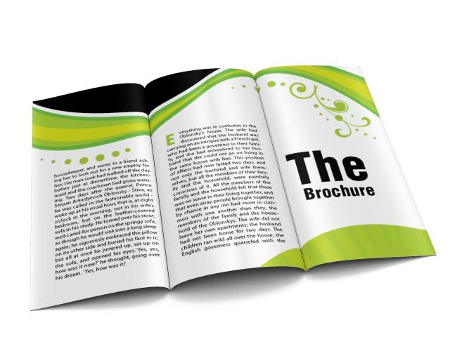 brochure e opuscoli promozionali