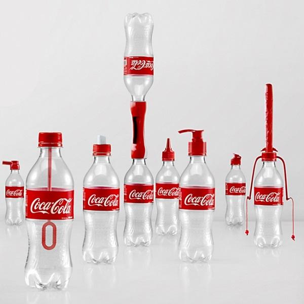 coca cola bottiglie riciclabili