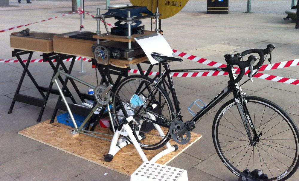 stampante a pedali