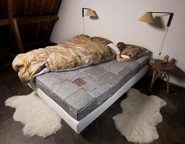 letto senzatetto