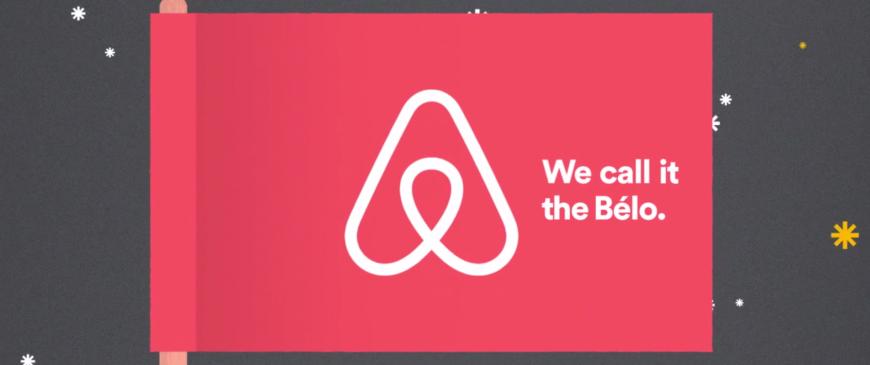 il nuovo logo Airbnb