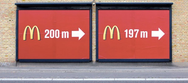 McDonalds affissioni