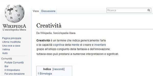 Definizione di Creatività