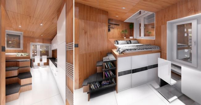 interno di una abitazione del Gregory Project