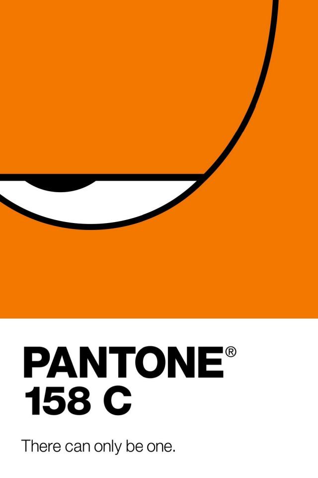Poster Pantone 2014