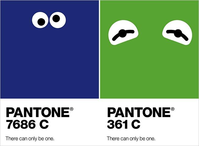 campagna pubblicitaria Pantone 2014