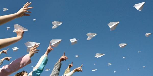 paperless aereoplani di carta