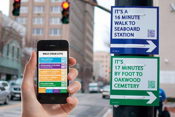 app e segnaletiche cittadine