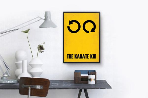 Poster HD Karate Kid