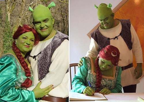 matrimonio shrek