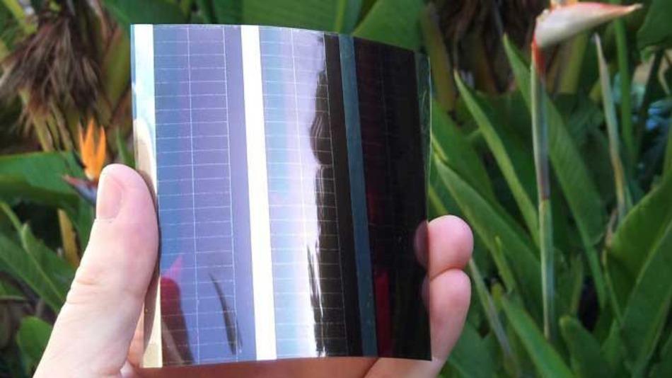 Pannello solare stampato