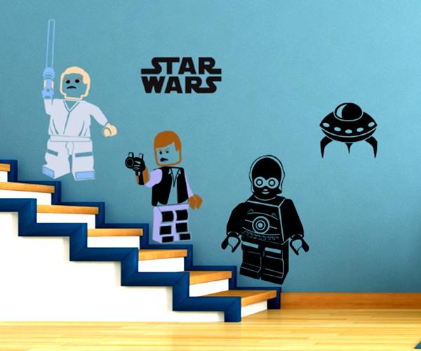 adesivo STAR WARS Lego