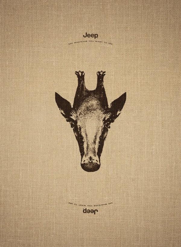 Jeep giraffa