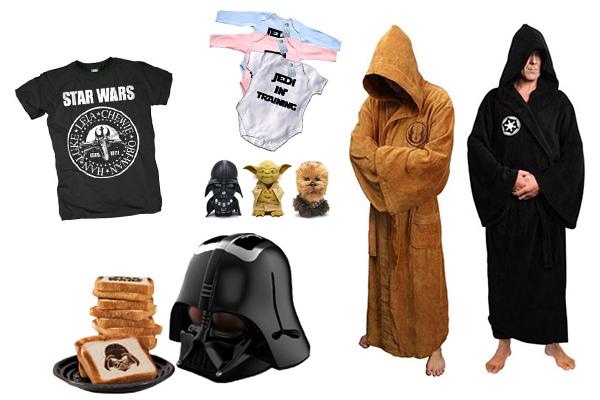 star wars gadgets e t-shirt