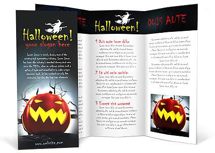 brochure di halloween