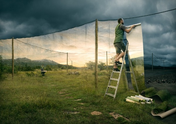 Erik Johansson cover up