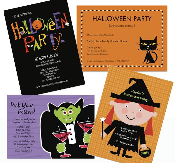 inviti per festa di halloween