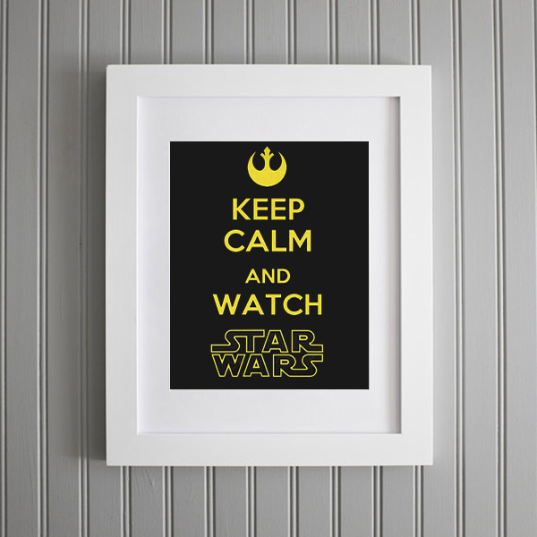 stampa HD poster Keep Calm
