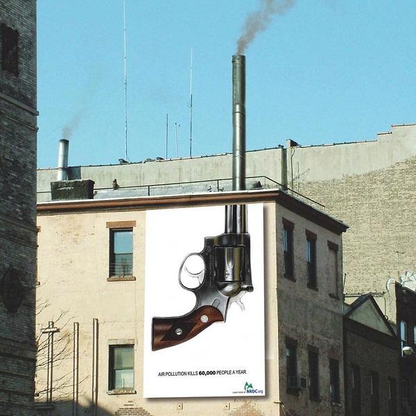 campagna anti inquinamento
