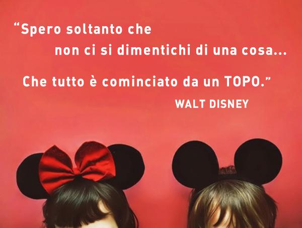 adesivi decorativi citazione Disney Mickey Mouse