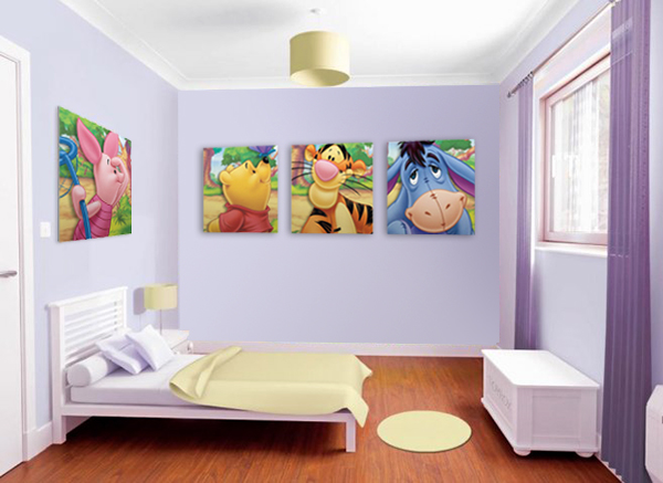 pannelli cameretta disney Winnie the Pooh