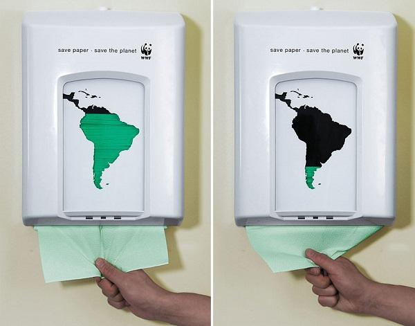 campagna contro spreco carta