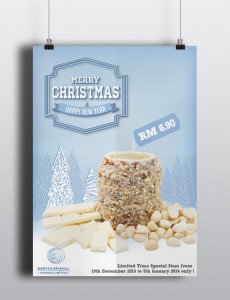 Christmas brochure color ghiaccio