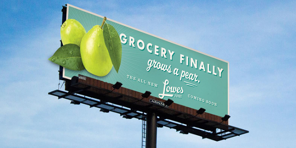 lowes-foods pubblicità pere williams