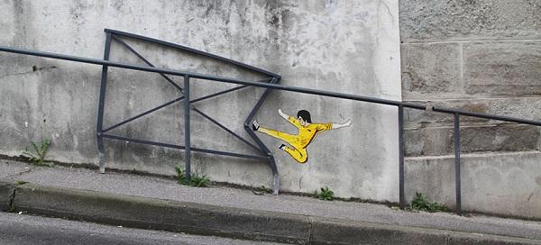 Bruce Lee, Saint Etienne, Francia