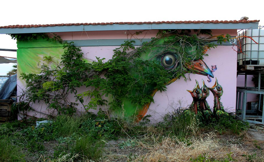 Uccello, Atene, Grecia