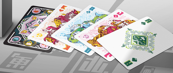 carte da gioco pixel art