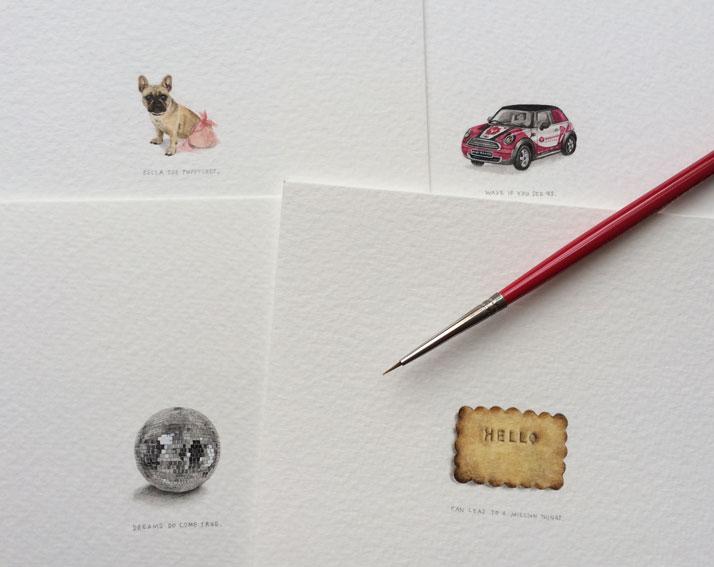 Le miniature di Lorraine Loots