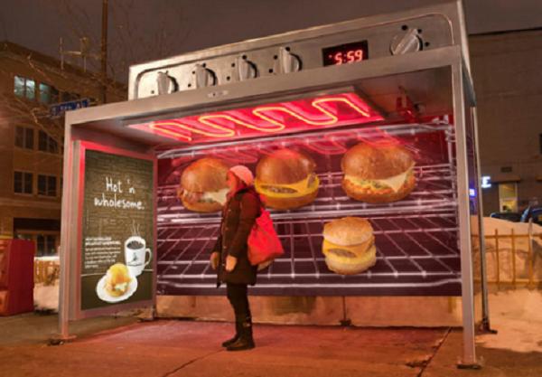 fermata autobus forno grill