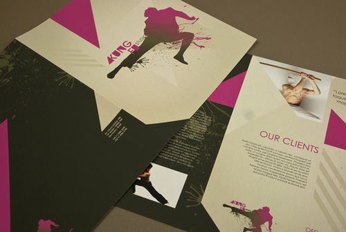 idee brochure arti marziali