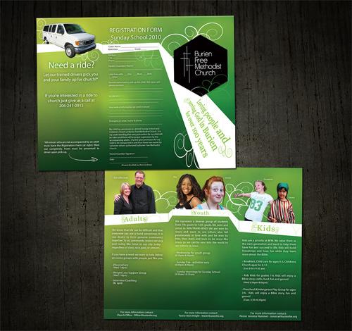 idee brochure chiesa