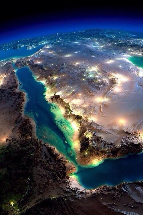 mar rosso e penisola araba