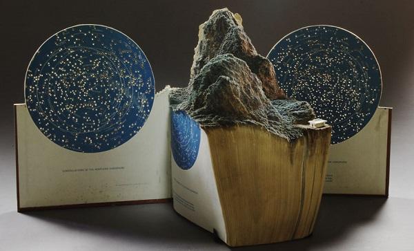 libro scultura - la montagna