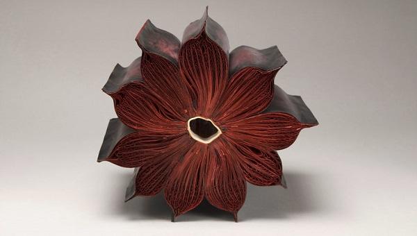 libro scultura - omaggio floreale