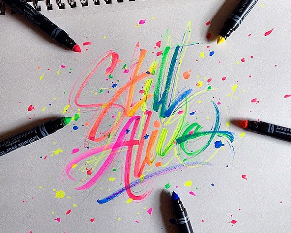 david milan arte calligrafica