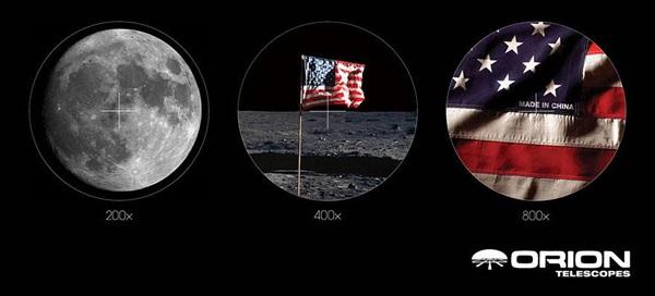 telescopio luna