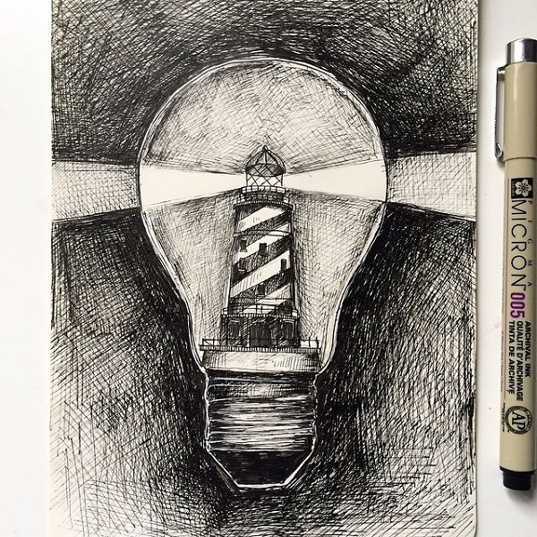alfred basha lampadina faro