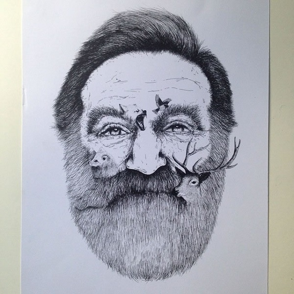 alfred basha robin williams
