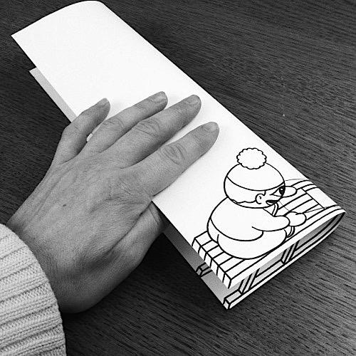 danimarca arte su carta slittino