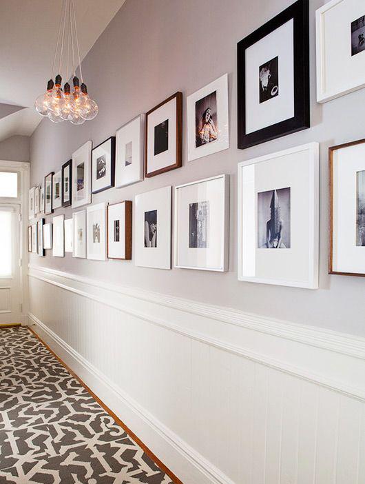 decorare quadri corridoio